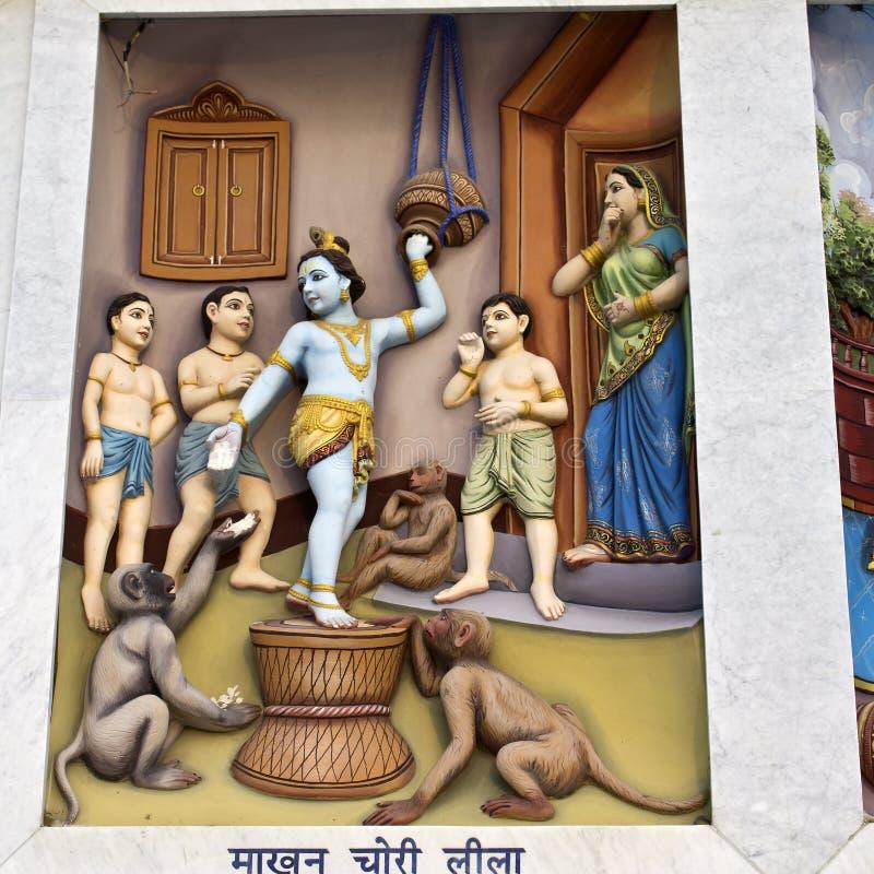 Krishna-lila lizenzfreies stockbild