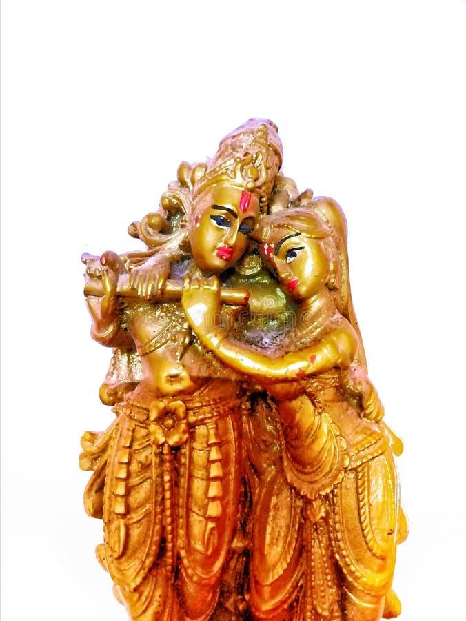 Krishna N&X27;拉达 免版税图库摄影