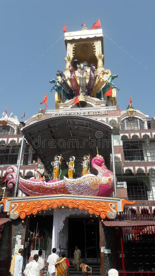 Krishna rath świątynia fotografia stock