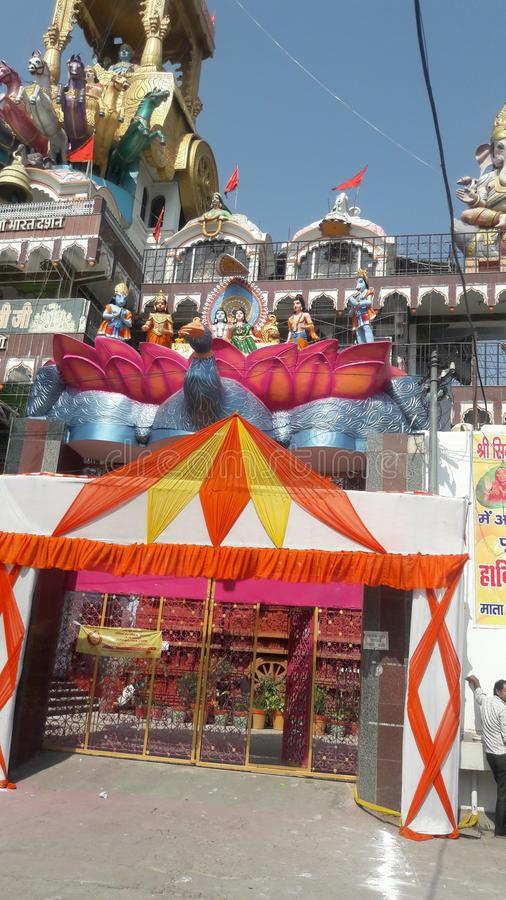Krishna-rath Tempel stockfoto