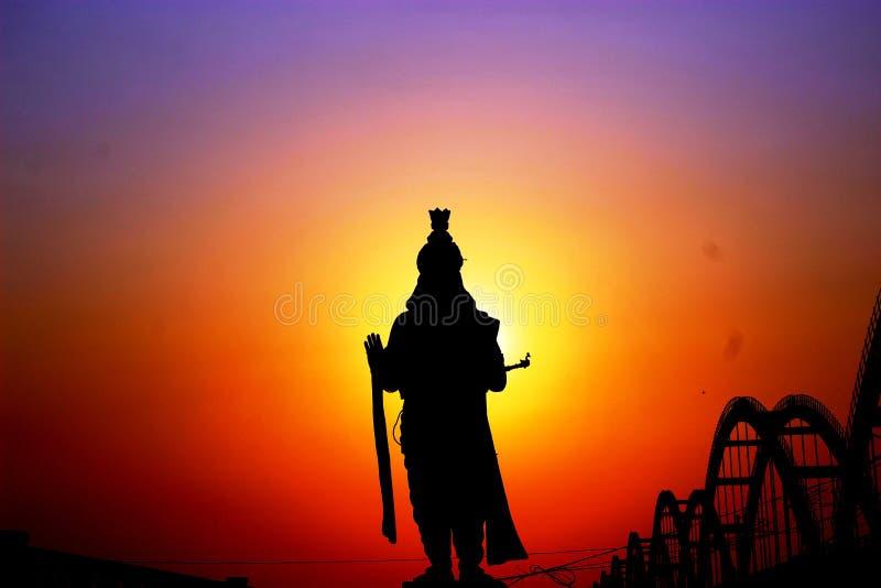 Krishna staty arkivfoton