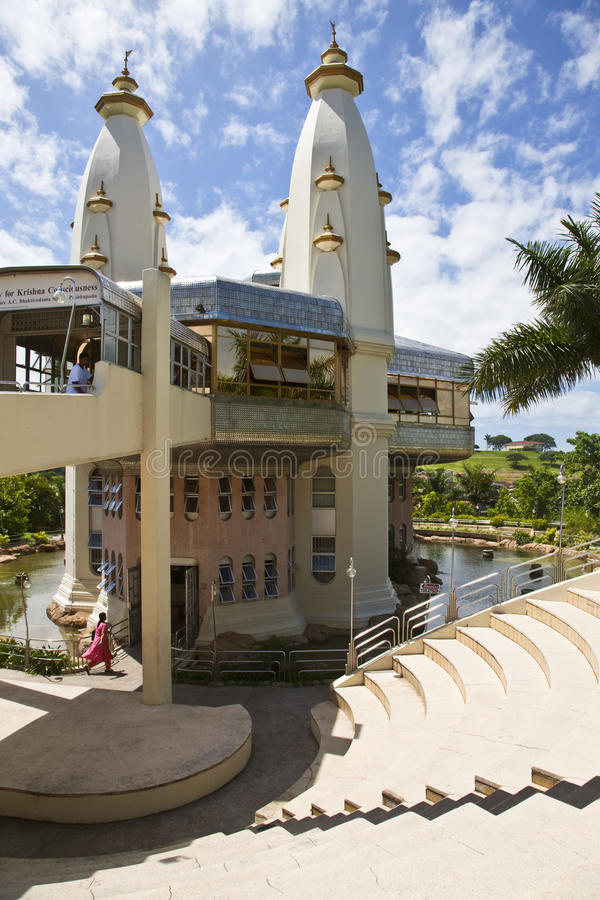 Krishna tempel arkivbild