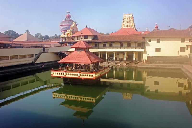 krishna temple udupi karnataka india holy shrine dedicated to hindu deity lord holy tank foreground known as 94792957
