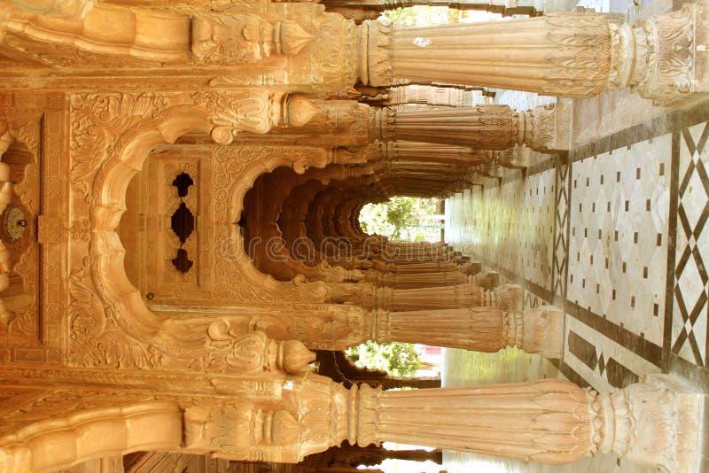 Krishnapuras Regenschirm, Indore lizenzfreie stockbilder