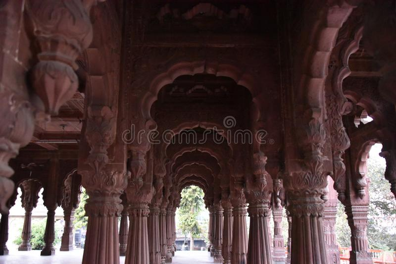 Krishnapuri chhatri, Indore Madhya Pradesh royaltyfri bild