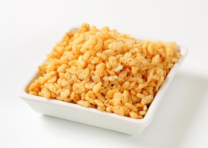 Krispies del arroz fotos de archivo libres de regalías