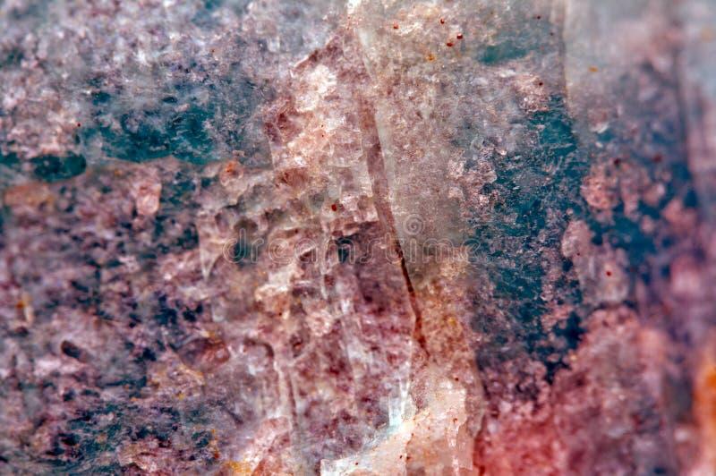 Kristal Macro royalty-vrije stock afbeeldingen