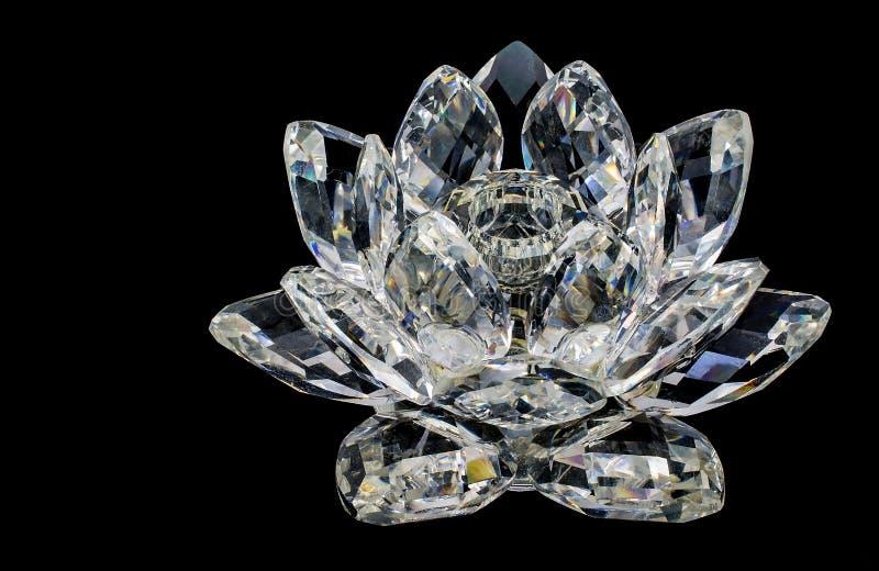 Kristal van bloem stock foto's