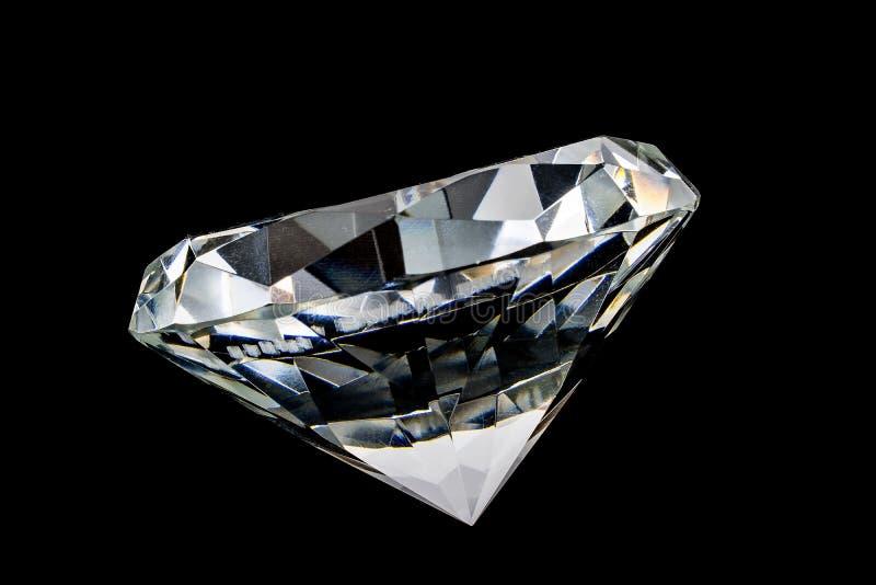 Kristal van diamant stock afbeelding