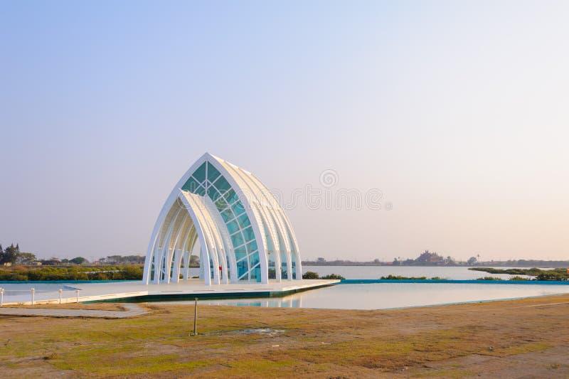 Kristalkathedraal in Tainan, Taiwan stock afbeeldingen