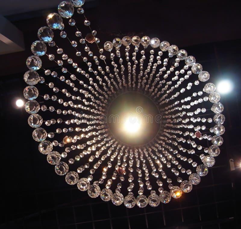 Kristall chandlier lizenzfreies stockfoto