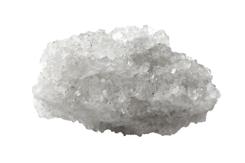 Kristall des Mineralsalzes lizenzfreie stockfotos