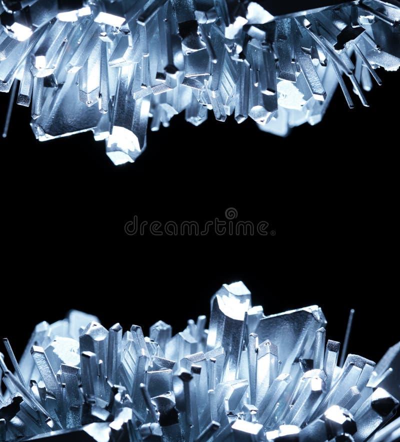 Kristalle lizenzfreies stockfoto