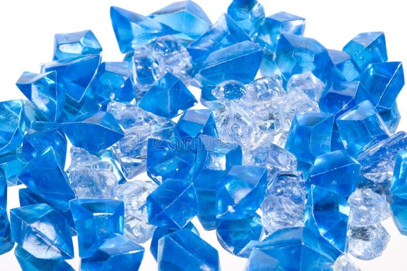 Kristallen stock foto