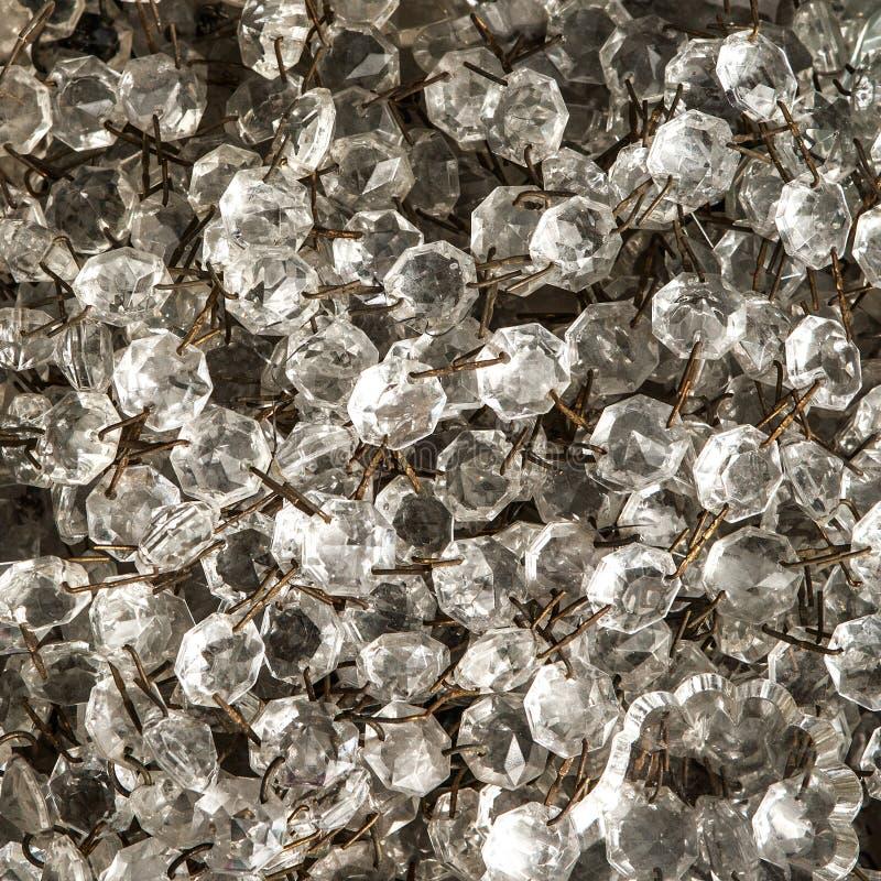 Kristallen van uitstekende kroonluchters royalty-vrije stock foto's