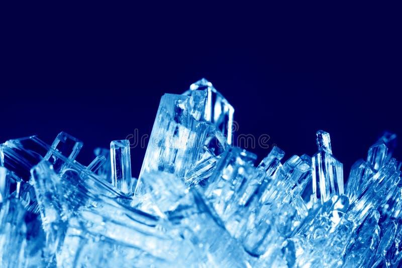 Kristallenmacro stock fotografie