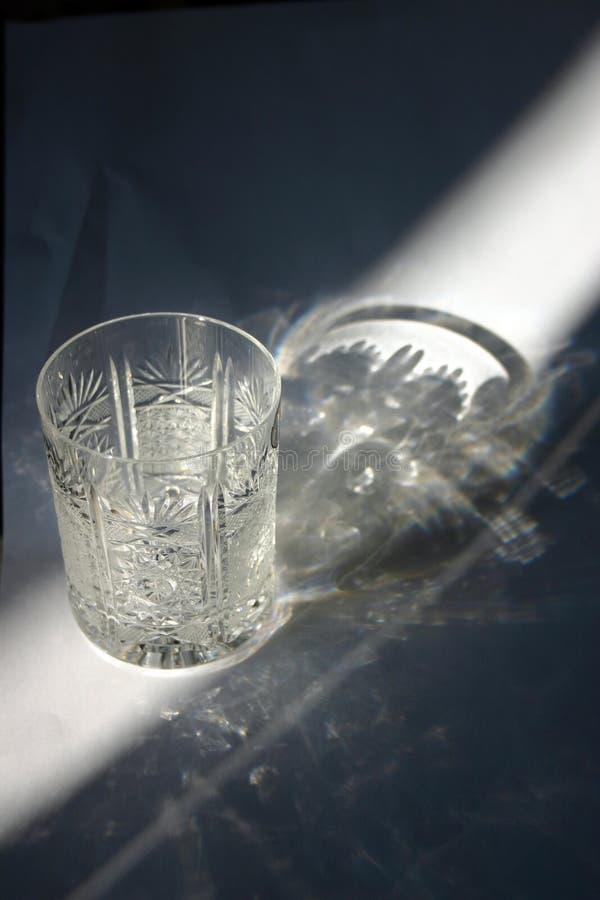 Kristallglas stockfoto