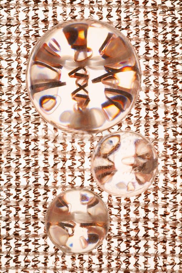 Kristallglas-Hintergrund lizenzfreie stockfotografie