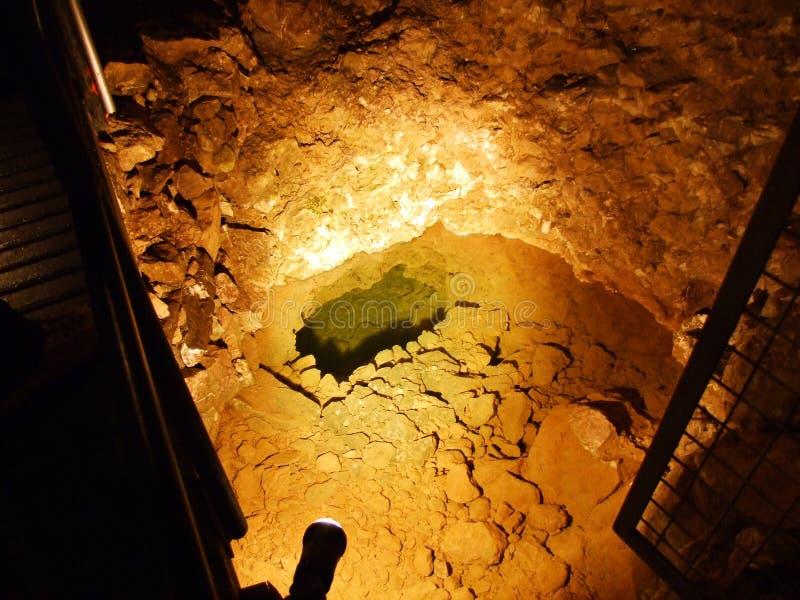 Kristallhöhle Kobelwald oder Würfel Kristallhöhle Kobelwald Kristallhohle Kobelwald oder Kristallhoehle Kobelwald stockfotos