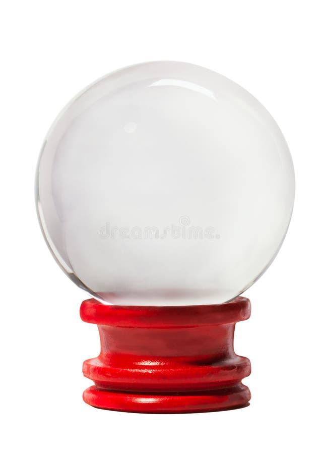 Kristallkugel stockfoto
