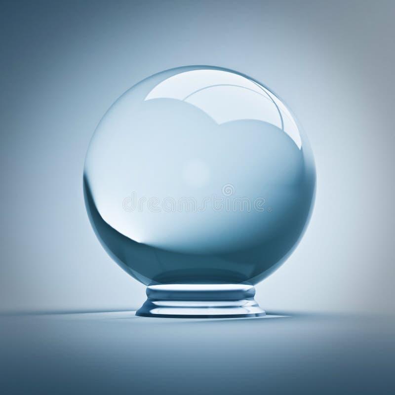 Kristallkugel stock abbildung