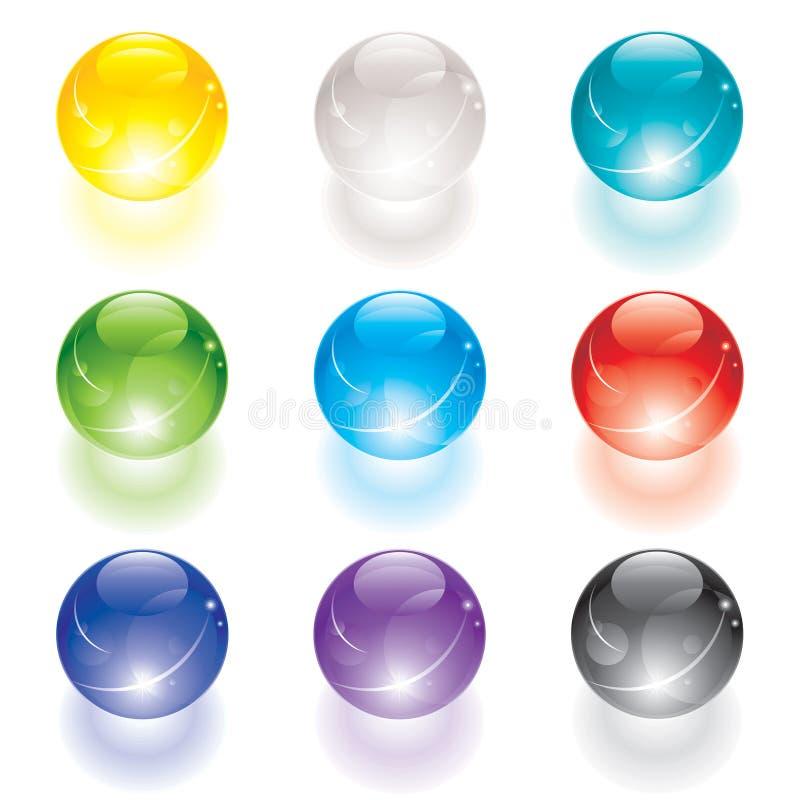 Kristallkugel lizenzfreie abbildung