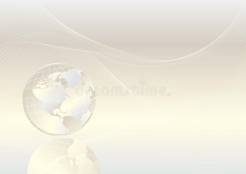 Kristallkugel vektor abbildung