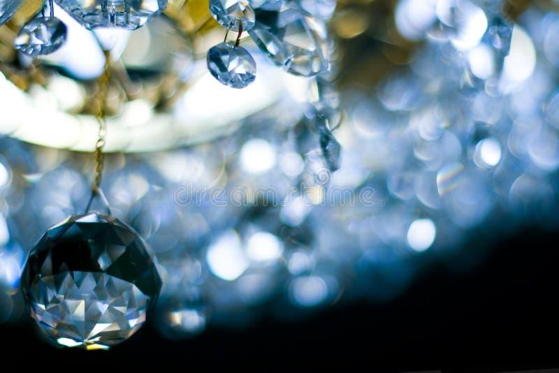 Kristalllampe stockfoto