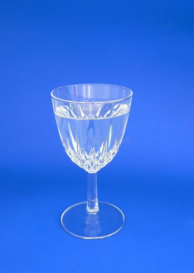 Kristallwein-Glas lizenzfreies stockfoto