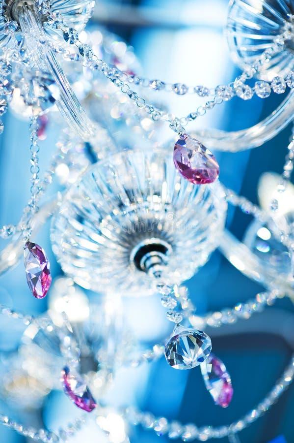 Kristallweinleselampe stockfotografie