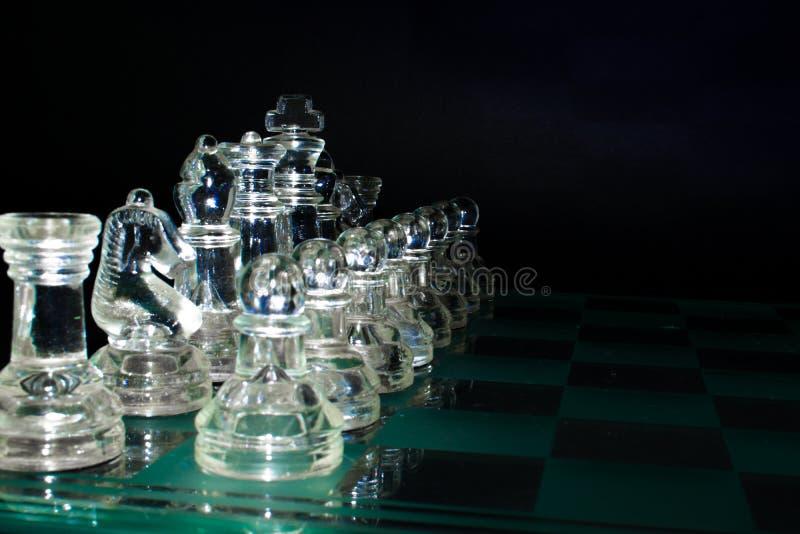 Kristalmilitairen klaar voor slag royalty-vrije stock fotografie