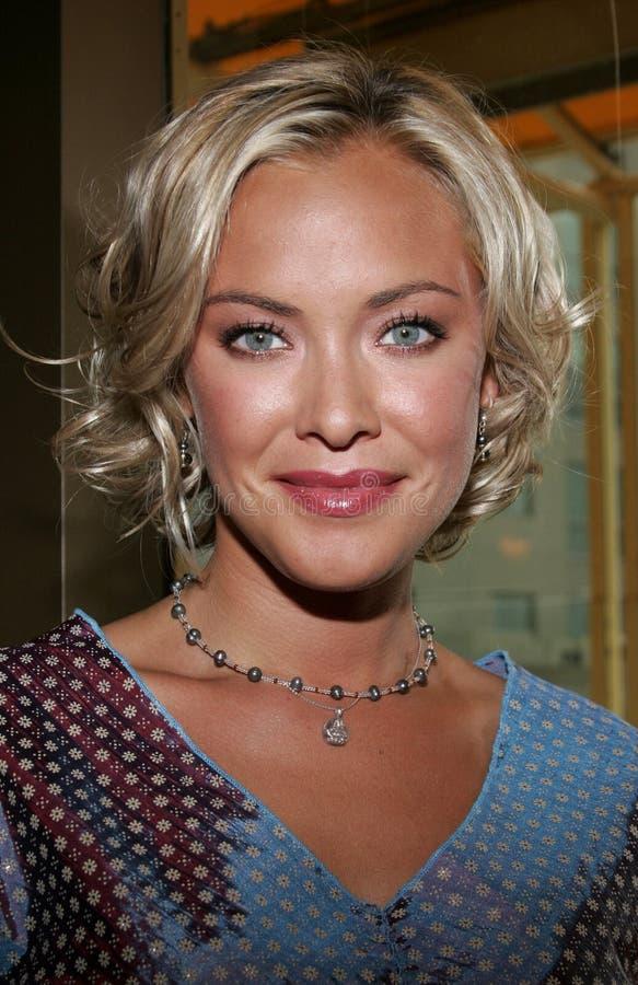 Kristanna Loken royalty-vrije stock afbeelding