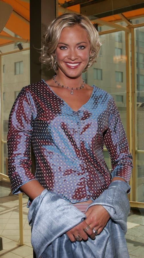 Kristanna Loken royalty-vrije stock fotografie