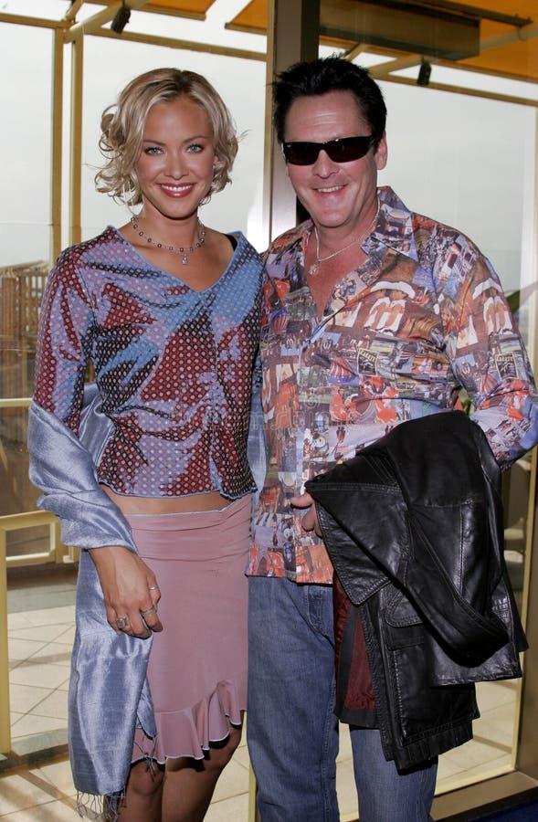 Kristanna Loken en Michael Madsen royalty-vrije stock foto