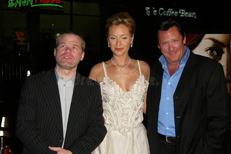 Kristanna Loken, Michael Madsen royalty-vrije stock foto's