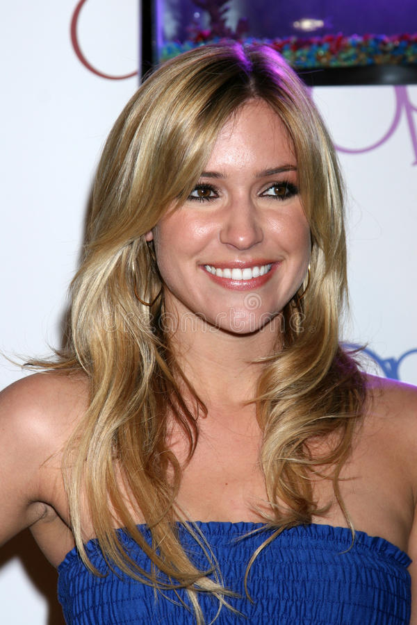 Kristen Cavallari. OP Ad Campaign Launch Beverly Hills, CA June 3, 2008 royalty free stock photo