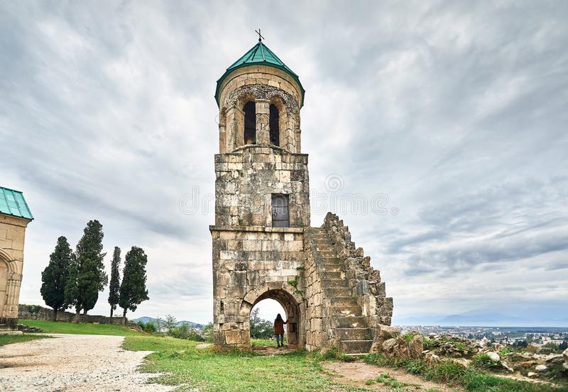 Kristen domkyrka i Georgia arkivfoto
