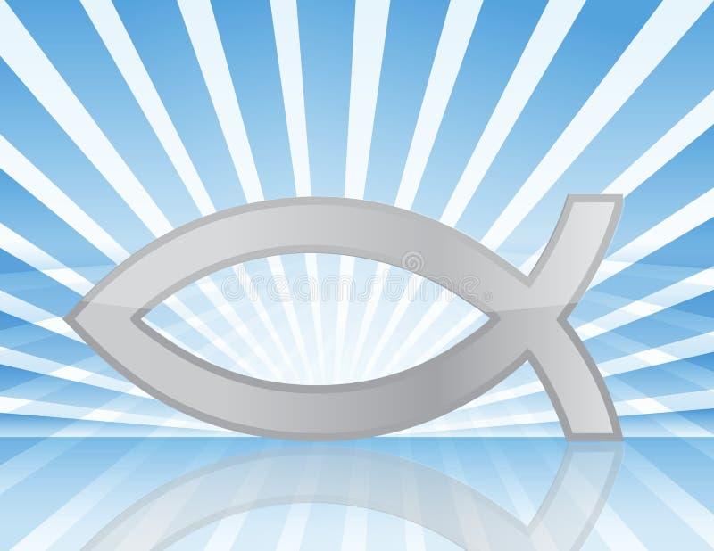 kristen fisk vektor illustrationer