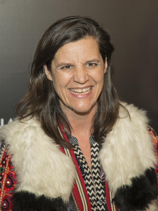 Kristen Johnson Wins an NBR spricht Gala zu stockfotos