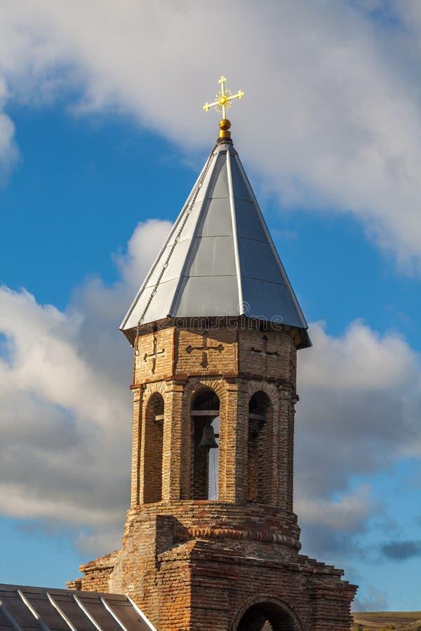 Kristen kyrka i Surami, Shida Kartli, Georgia royaltyfria foton