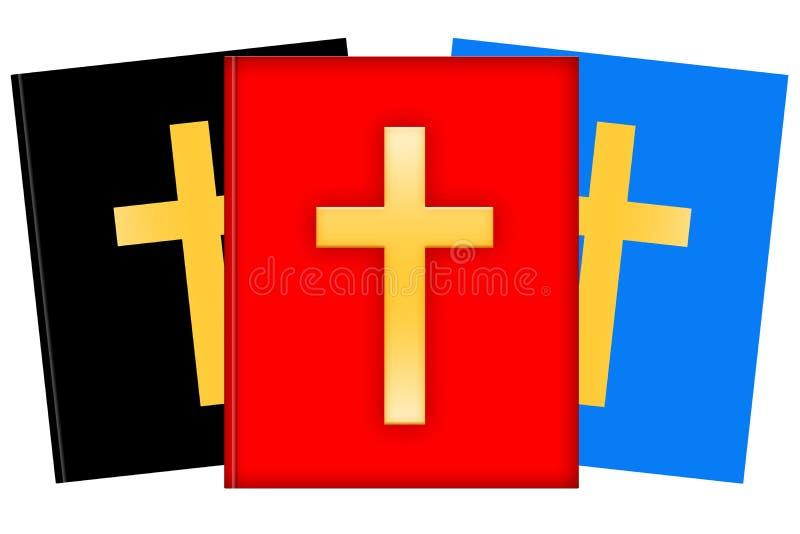kristen litteratur royaltyfri illustrationer