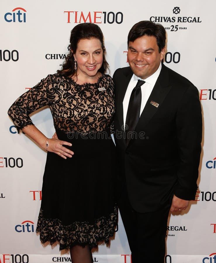 Kristen Lopez, Robert Lopez zdjęcia royalty free
