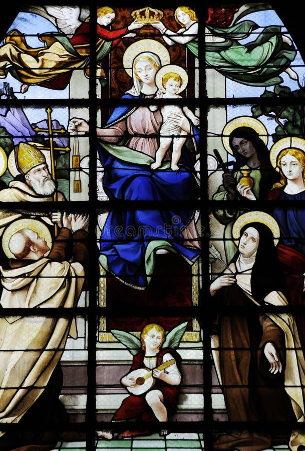 Kristen målning royaltyfria bilder