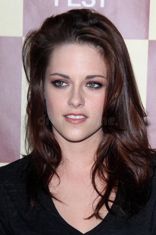 Kristen Stewart. LOS ANGELES - JUN 21: Kristen Stewart arriving at A Better Life World Premiere Gala Screening t the 2011 Los Angeles Film Festival at Regal stock image