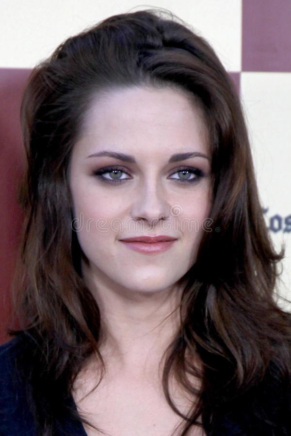 Kristen Stewart. LOS ANGELES - JUN 21: Kristen Stewart arriving at A Better Life World Premiere Gala Screening t the 2011 Los Angeles Film Festival at Regal royalty free stock image