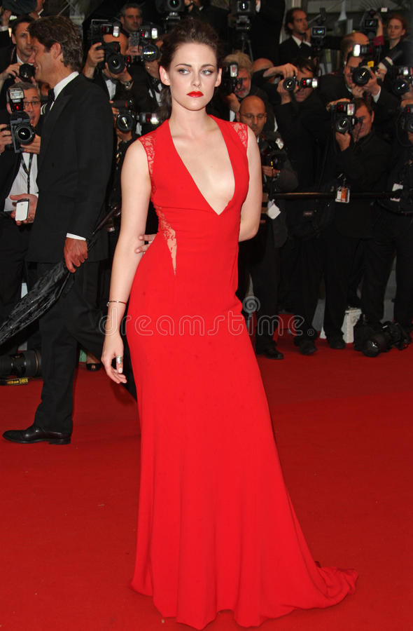 Kristen Stewart. Arriving for the 'Cosmopolis' premiere during the 65th annual Cannes Film Festival, Cannes, France. 25/05/2012 Picture by: Henry Harris / stock photography