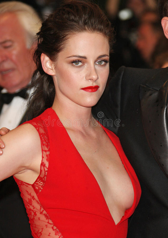 Kristen Stewart. Arriving for the 'Cosmopolis' premiere during the 65th annual Cannes Film Festival, Cannes, France. 25/05/2012 Picture by: Henry Harris / stock images