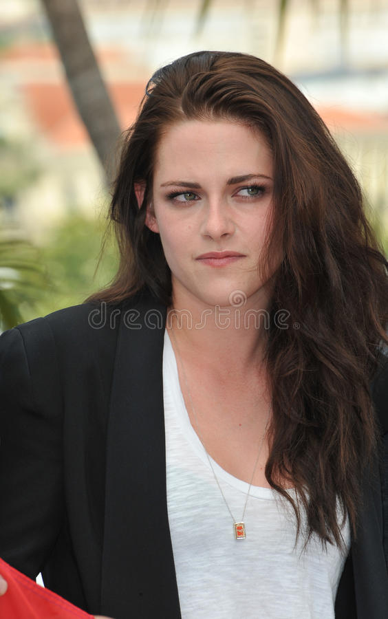 Kristen Stewart. At the photocall for her new movie On The Road in competition at the 65th Festival de Cannes. May 23, 2012 Cannes, France Picture: Paul Smith stock photos