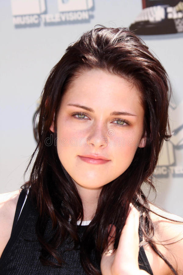 Kristen Stewart. At the 2008 MTV Movie Awards. Gibson Amphitheatre, Universal City, CA. 06-01-08 royalty free stock photography