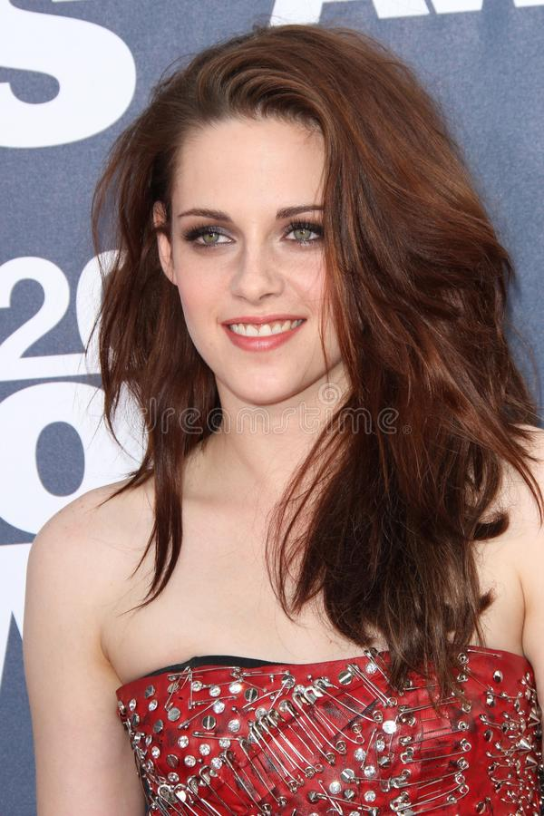 Kristen Stewart. At the 2011 MTV Movie Awards Arrivals, Gibson Amphitheatre, Universal City, CA. 06-05-11 royalty free stock photos